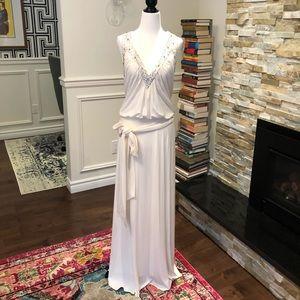 ◾️2 for $100🔳NWOT BCBGMaxAzria White Gown